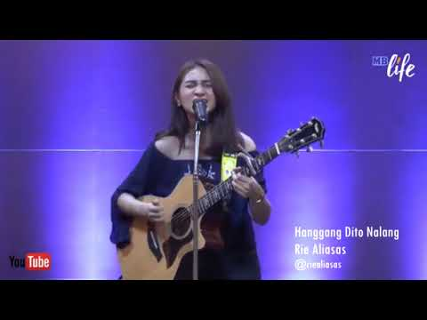 Hanggang Dito Nalang - Jimmy Bondoc - Rie Aliasas (MB live cover)