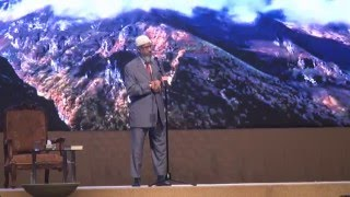 Dr Zakir Naik Malaysia Tour 2016 UTeM, Melaka - Islam, Problem & Solution To Humanity