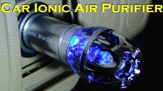 Car Ionic Air Purifier Portable Unit