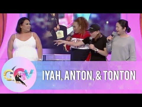 GGV Pre-Show: Anton Diva, Iyah Mina, and Tonton have fun with Negi   #RegineOnGGV
