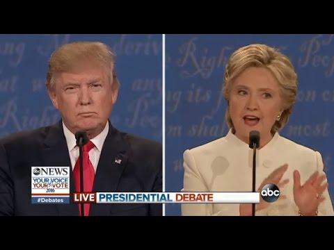 watch Third Presidential Debate Highlights   Clinton, Trump on 2nd Amendment, Guns