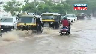 Heavy Rain Lashes Bhubaneswar