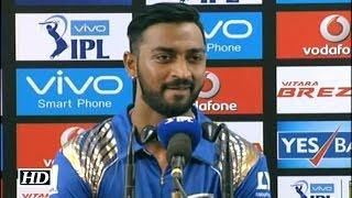 IPL9 MI vs RCB: Krunal Pandya Reacts On Thrashing RCB