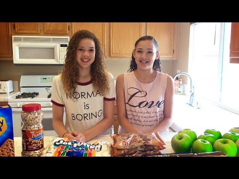 Chocolate Caramel Candy Apples DIY Recipe Haschak Sisters