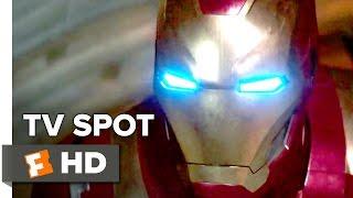 Captain America: Civil War TV SPOT - Team Iron Man (2016) - Robert Downy Jr. Movie HD