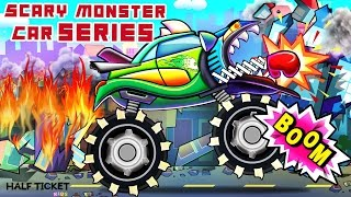 Monster Car Compilation | Scary Monster Car Series | Different Types Of Monster Car