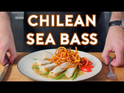 Binging with Babish Chilean Sea Bass from Jurassic Park