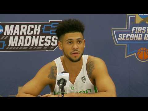 News Conference Oregon Second Round Postgame