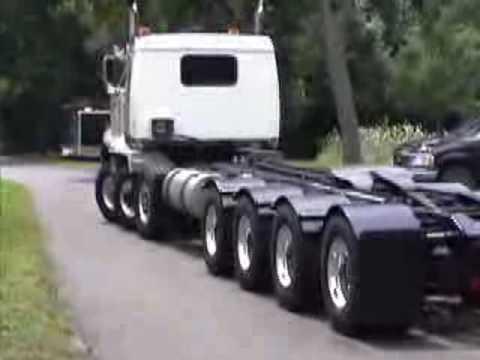 caminhão de 7 eixos