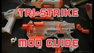 The Nerf Modulus Tri-Strike Mod Guide