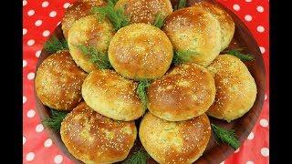 فطائر الشبت بالجبنة التركية معجنات مدرسية بالجبن خفيفة مثل القطن مع رباح محمد ( الحلقة 531 )