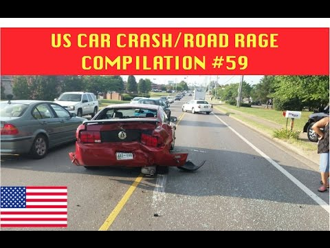 watch 🇺🇸 [US ONLY] US CAR CRASH/ROAD RAGE COMPILATION #59