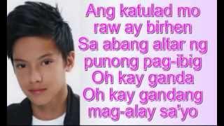 Binibini - Daniel Padilla Lyrics (Full Version)