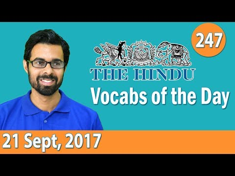 Xxx Mp4 ✅ Daily The Hindu Vocabulary 21 Sept 2017 Learn 10 New Words With Tricks Day 247 3gp Sex