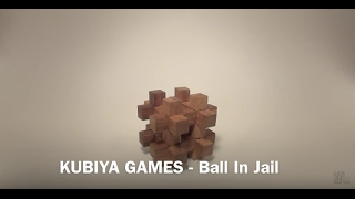 How To Solve The Ball In Jail Puzzle - BY KUBIYA GAMES