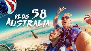 Trip To Australia, Sydney   প্লেন থেকে লাফ দিলাম   Vlog 58   Tawhid Afridi   Skydive Above 35000 Ft