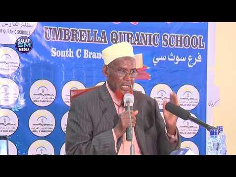 in Quraanka iyo Sunnada laqabsado || Sh Adan Mohamed Omar  Makaawi