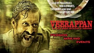 Veerappan  | Promo | Events | Hindi Movies 2017 Full Movie | Latest Bollywood Movies