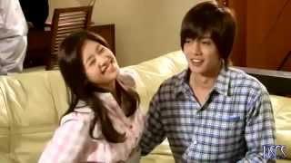 BEHIND THE SCENE Playful Kiss[Hyun Joong & So Min] Ha Ni Massaging Seung Jo