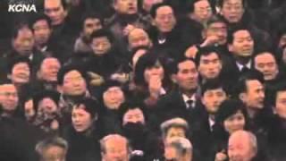 Траурный кортеж с телом Полководца Ким Чен Ира