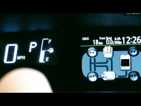 How to change #Prius C KPH to MPH- Toyota On Front