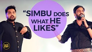 """Simbu Does What He Likes"" | Santhanam | Fully Filmy"