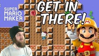 Hello Kitty's House of Torture & Pain (& NSMBU Kaizo!) | Subscriber Levels [#07] - Super Mario Maker