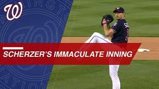 Scherzer hurls immaculate 6th inning vs. Rays in D.C.