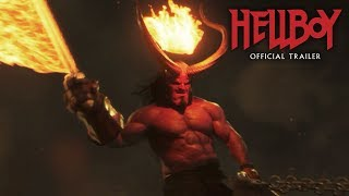 "Hellboy (2019 Movie) New Trailer ""Green Band"" – David Harbour, Milla Jovovich, Ian McShane"