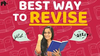 Best REVISE Strategy for exams