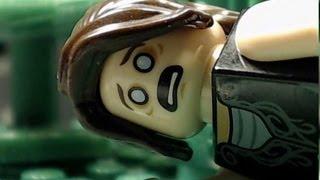 EVIL DEAD 2013 - Trailer in Lego