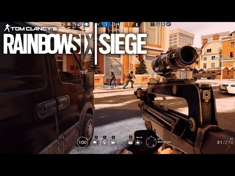 RUNNING A NEW OPERATOR! - Rainbow Six Siege #5