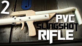 PVC Slingshot Rifle (build challenge)   Part 2