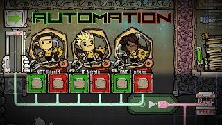 Intro To Automation Upgrade! Oxygen Not Included