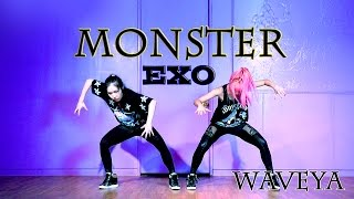 EXO_Monster_Dance Practice ver.WAVEYA 웨이브야