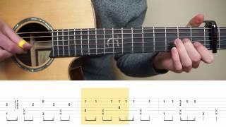 Ed Sheeran - Shape Of You - Fingerstyle Guitar TABS Tutorial (Lesson) | Mattias Krantz