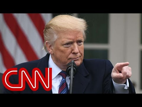 Trump grilled over shutdown border wall entire Rose Garden Q&A