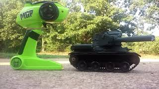 How to make a remote control battle tank.