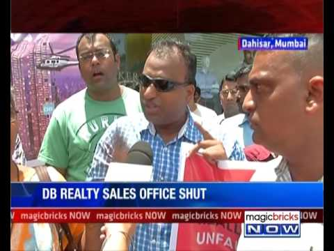 Homebuyers protest against DB Realty over delayed possession - The Property News