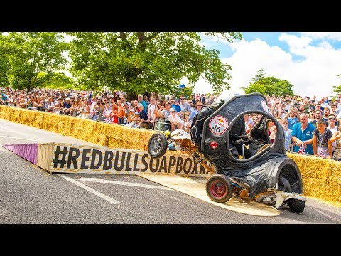 TOP 5 Crashes from Red Bull Soapbox Race UK 2017 Pick your favorite