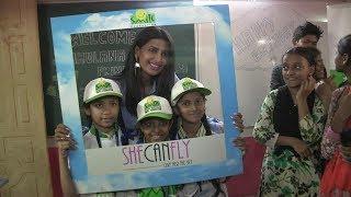 South Top Actress Rajshri Ponnappa Cellebrate Birthday Smile Foundation kids dharavi mumbai