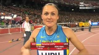 Finale 800 metri donne - Pechino 2015 - Campionati del Mondo