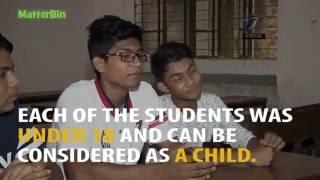 Maasranga TV Report too heavy for 13 Students.