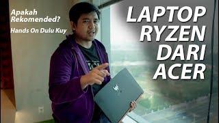 Hands On Laptop Gaming Acer Bertenaga Ryzen | Nitro 5 Indonesia