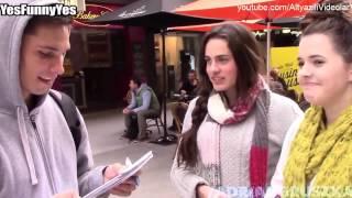 Güzel Yabancı Kızlara +18 Sorular Sormak ALTYAZILI