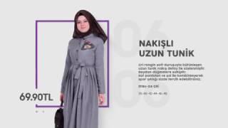 En Yeni Tesettür Elbise ve Tunikler