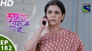 Kuch Rang Pyar Ke Aise Bhi - कुछ रंग प्यार के ऐसे भी - Episode 182 - 9th November, 2016
