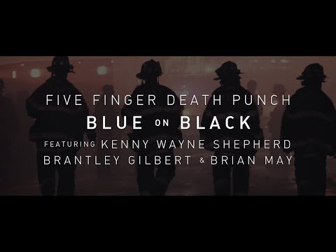 Download Five Finger Death Punch - Blue On Black (feat. Kenny Wayne Shepherd, Brantley Gilbert & Brian May)