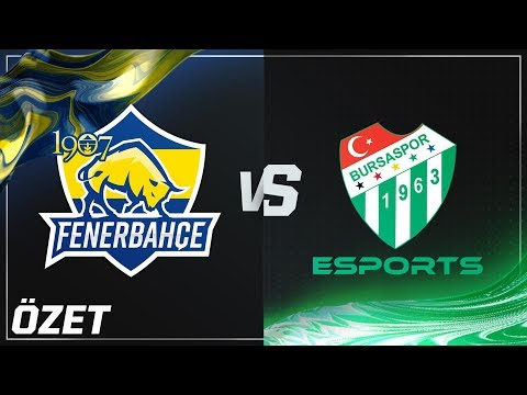 Xxx Mp4 1907 Fenerbahçe Espor FB Vs Bursaspor Esports BUR Maç Özeti 2018 Yaz Mevsimi 8 Hafta 3gp Sex