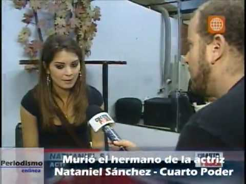 Falleció hermano de la actriz Nataniel Sánchez tras una larga lucha